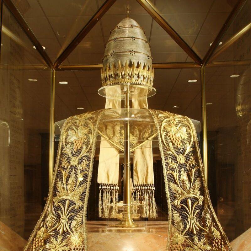 Papal Exhibit in Memorial Hall
