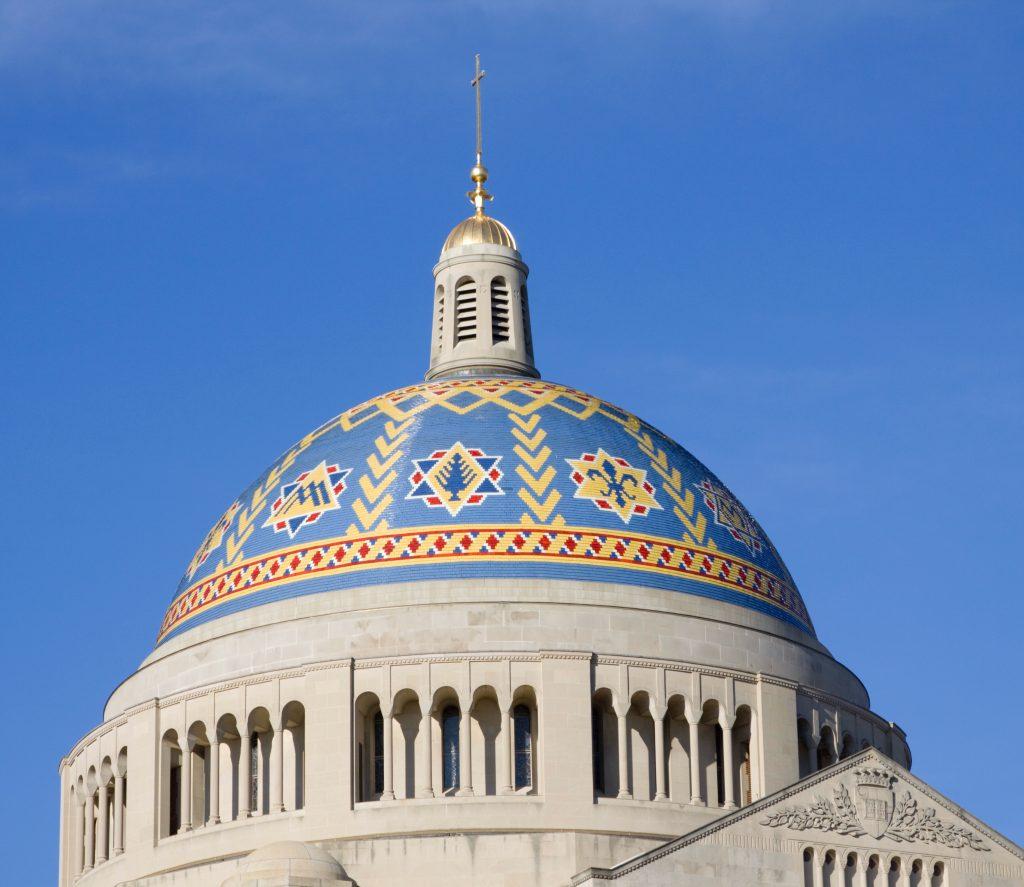 Basilica Trinity Dome exterior