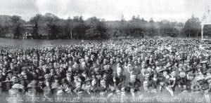 1920 May 16 Panorama tagged blessing of the land historic