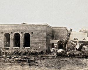 1924 July 11 crypt church construction