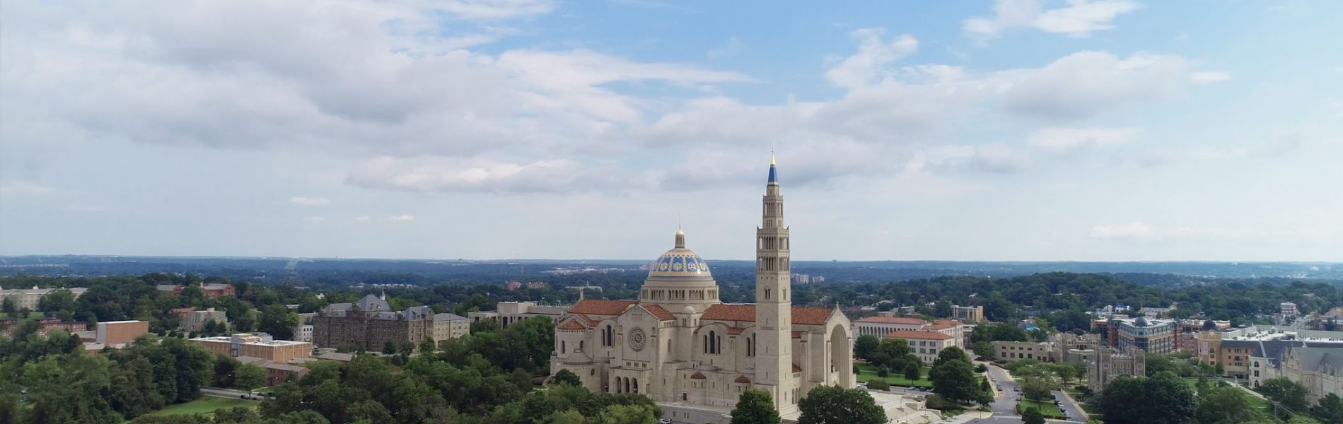 basilica exterior aerial