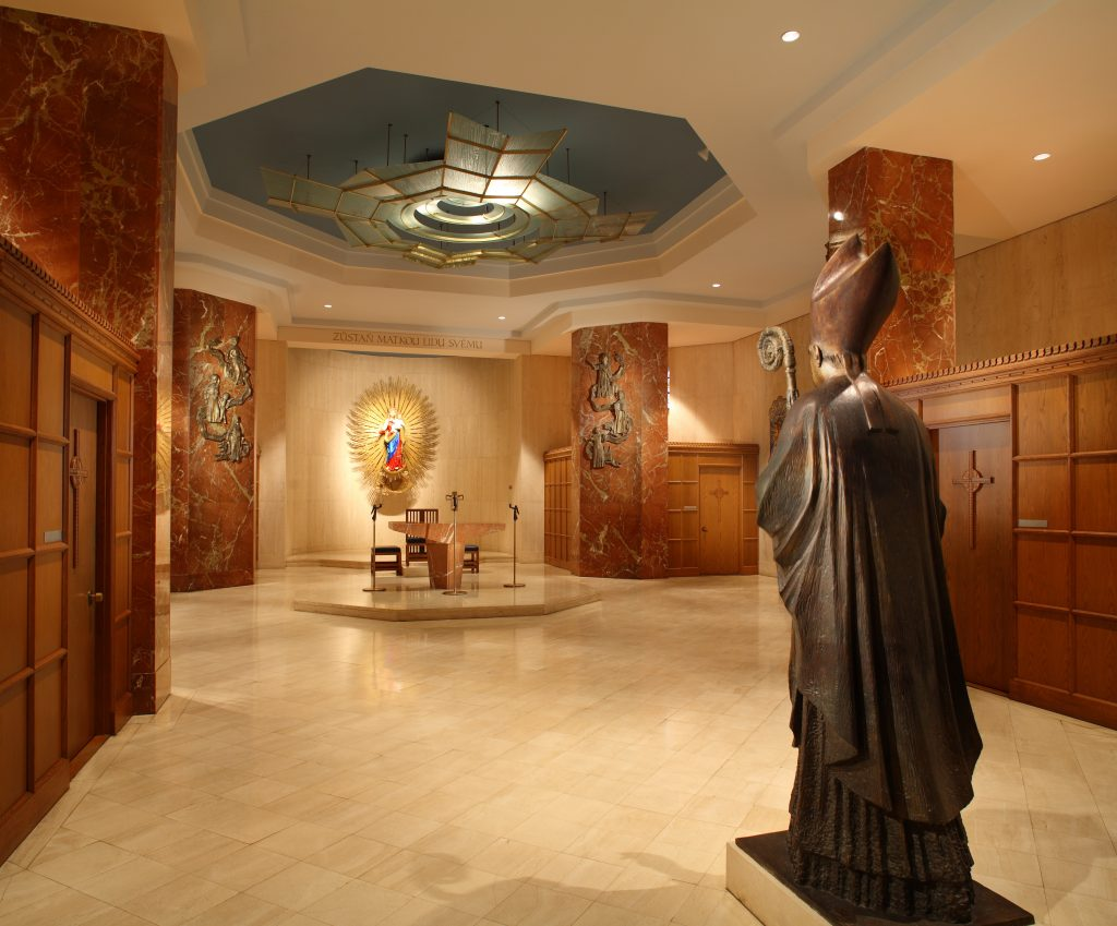 Our Lady of Hostyn, Confessional Chapel