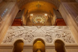 The Universal Call to Holiness relief with moeller organ