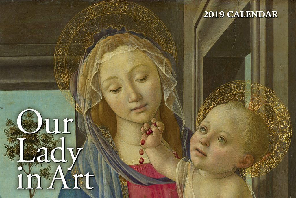 Our Lady in Art Calendar