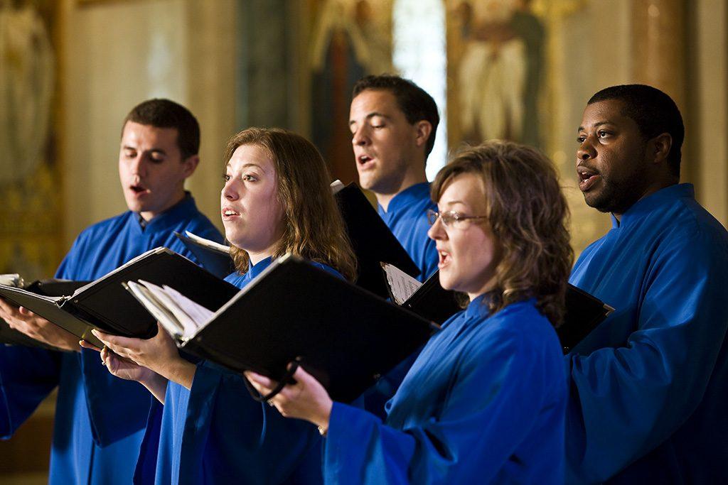 Basilica Choir singing