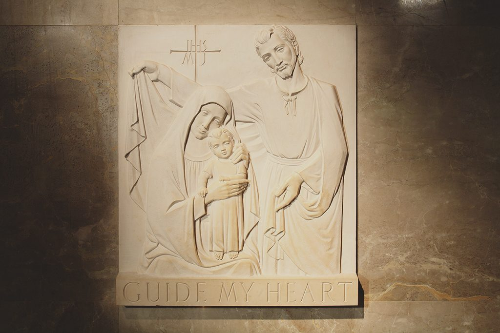 Relief of Holy Family