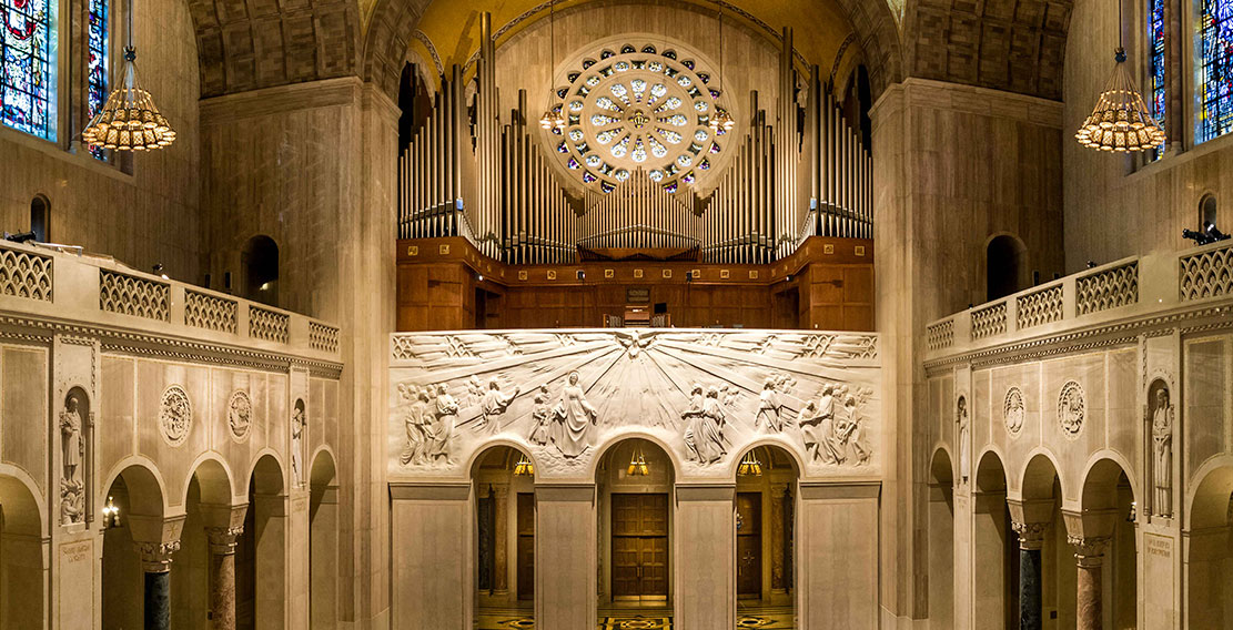 Sacred Music: Instruments - National Shrine of the