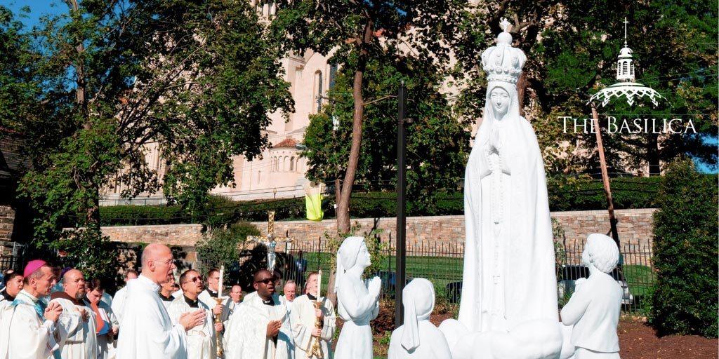 Dedication of Rosary Walk and Garden