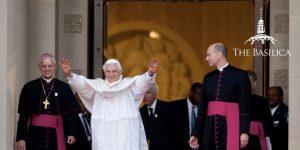 Pope Benedict XVI Visits the Basilica