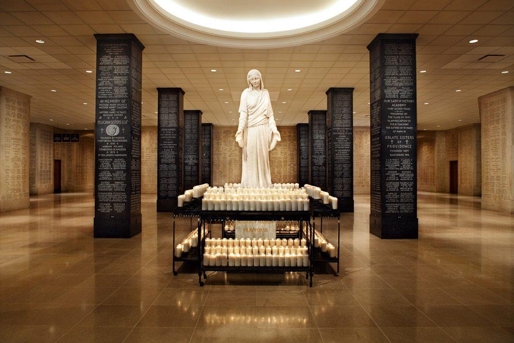 Memorial Hall & Registry at the Basilica