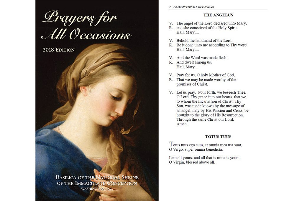 Prayers for all occasions book