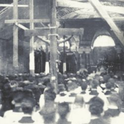 A Moment in Basilica History: First Mass Celebrated in the Crypt Church 95 Years Ago