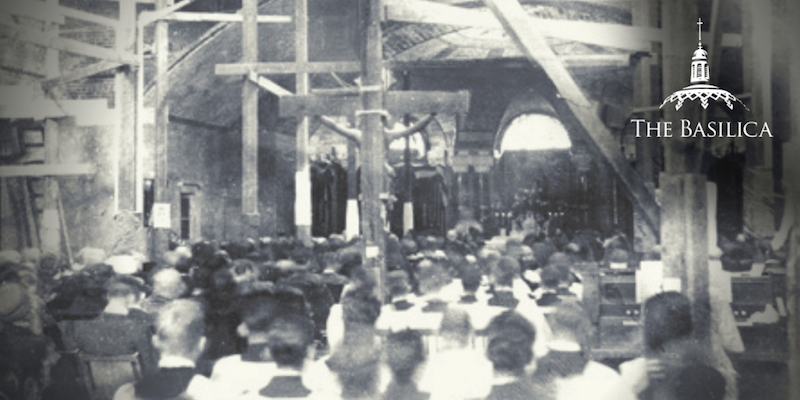 Basilica first Mass held in Crypt Church