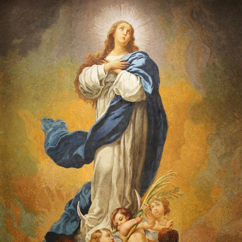 Immaculate Conception mosaic