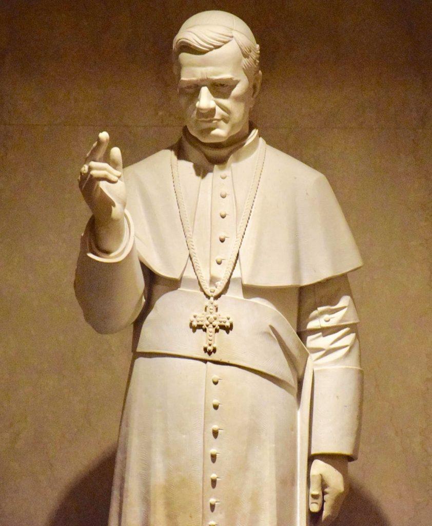 Pope Pius X Statue