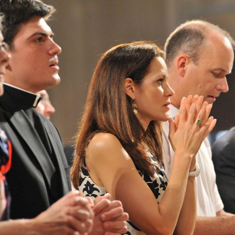 Mass at the Basilica