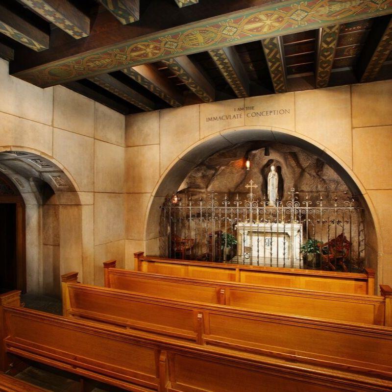 Lady of Lourdes chapel