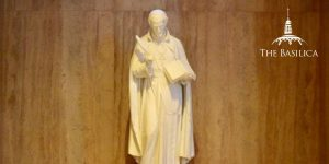 Saint Alphonsus statue in Basilica