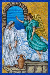 1st Joyful Mystery — The Annunciation