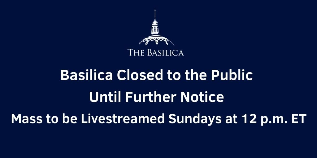 Basilica Closure banner update