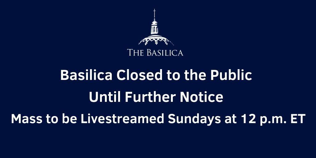 Basilica Closure banner update