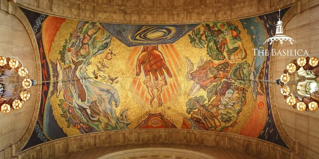 the creation mosaic