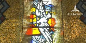 Trinity Dome window holy spirit dove