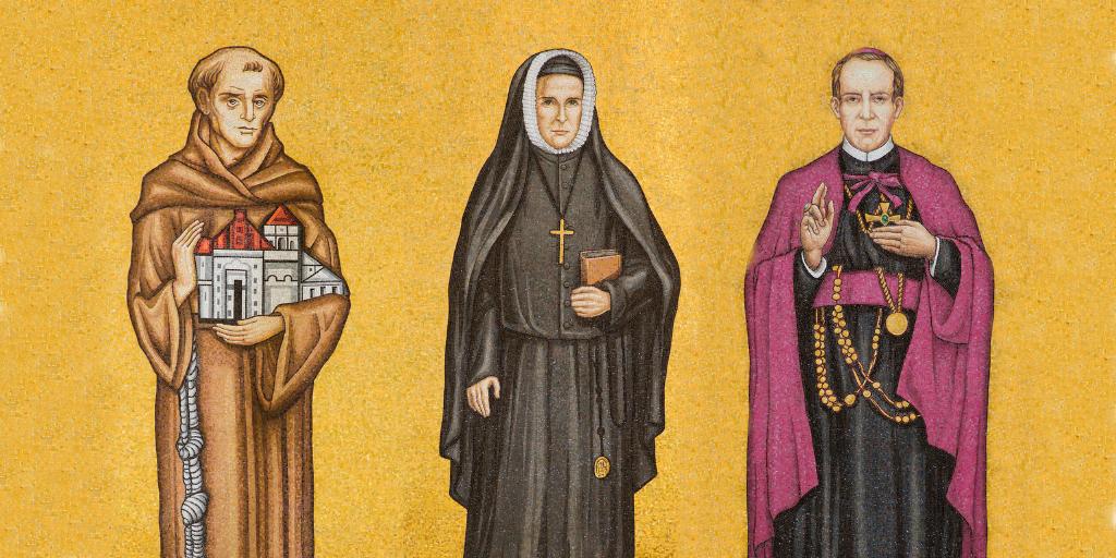 American saints in trinity dome