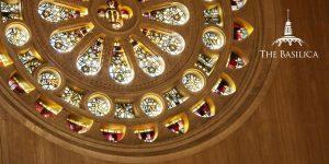 Rose window at the Basilica