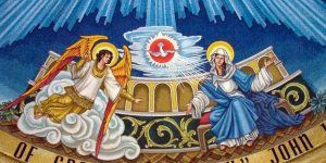 The Annunciation in Incarnation Dome