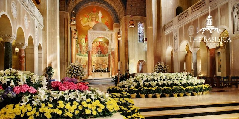 Basilica Holy Week schedule