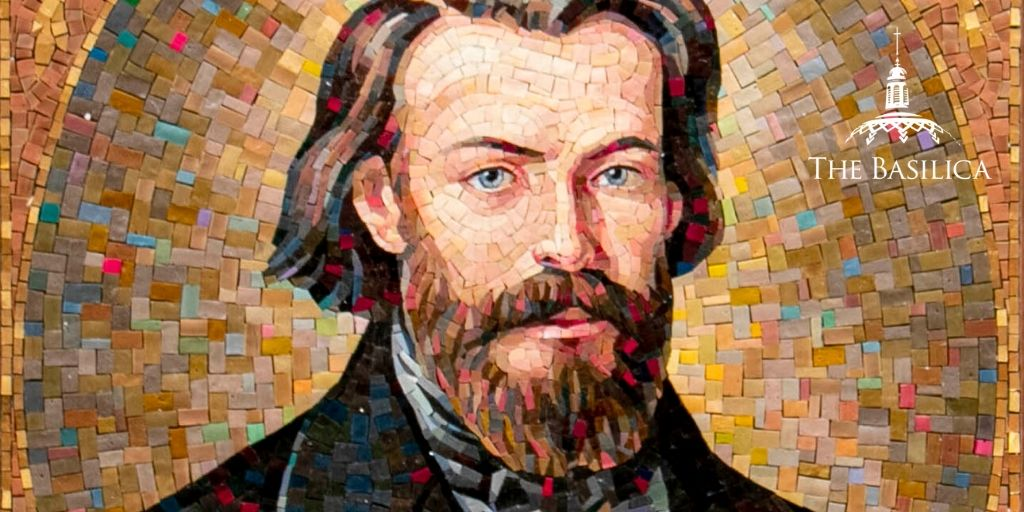 Blessed Frederic Ozanam mosaic