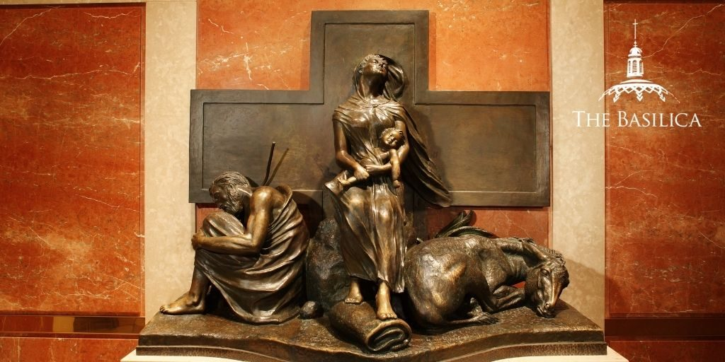 holy family at rest