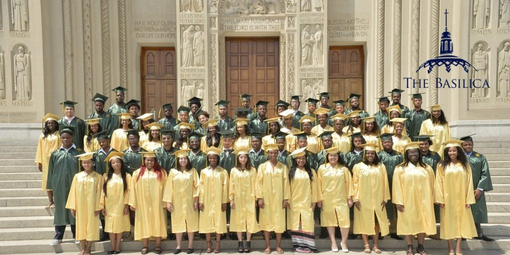 Archbishop Carroll High School Graduation at the Basilica