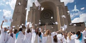 Academy of the Holy Cross Graduation at the Basilica