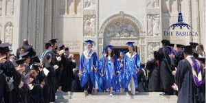 Bishop O'Connell High School Graduation at the Basilica