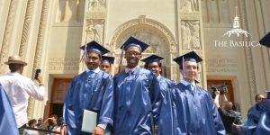 Dematha High School Graduation at the Basilica
