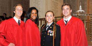 St. John's College High School Graduation at the Basilica