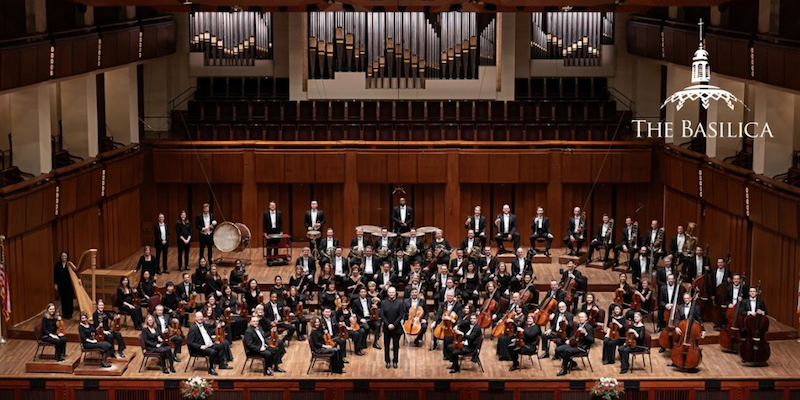 National Symphony Orchestra Community Concert at the Basilica