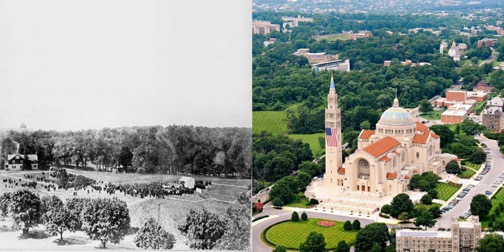 Basilica Now and Then