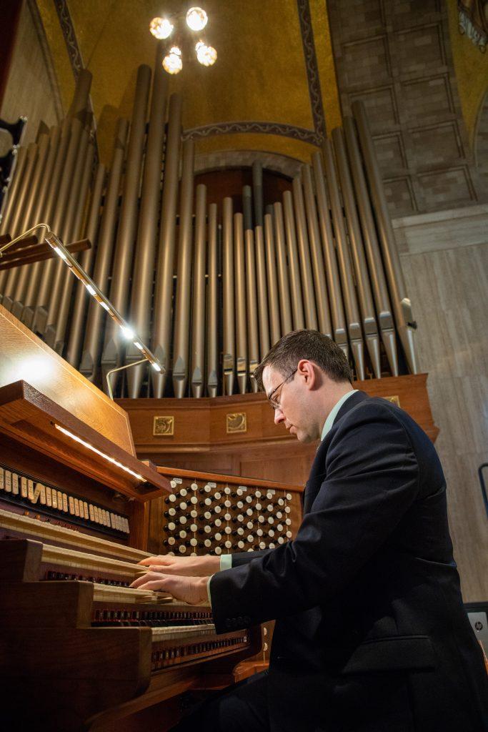 Ben LaPrairie plays Moeller organ in Great Upper Church 12