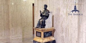 Chair of St. Peter sculpture