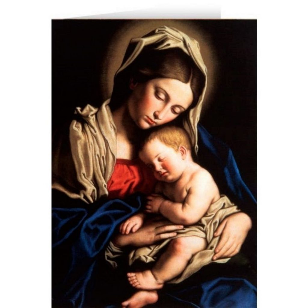 Madonna and Child cards
