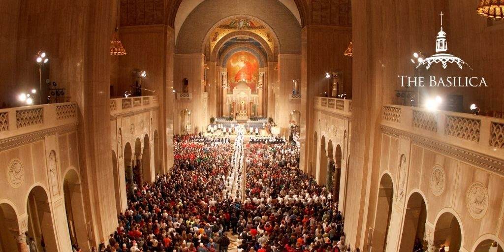 Why do nearly one million people a year visit the Shrine?