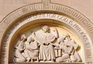 St. Elizabeth Ann Seton Tympanum