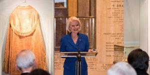 Ambassador gingrich papal exhibit opening