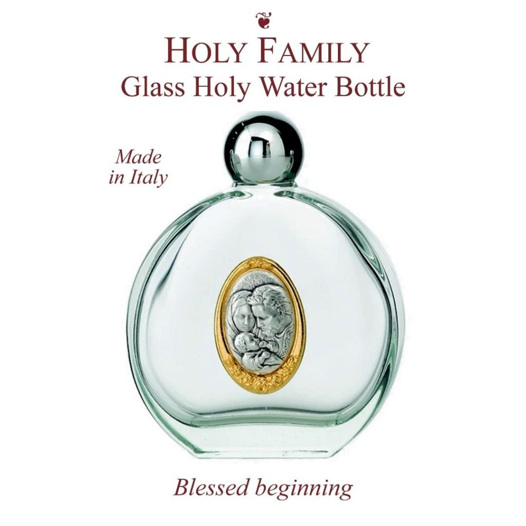 Holy Family water bottle