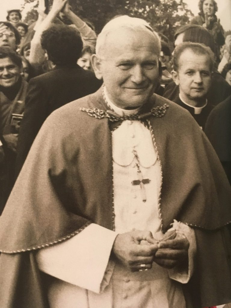 Saint John Paul II Smiling