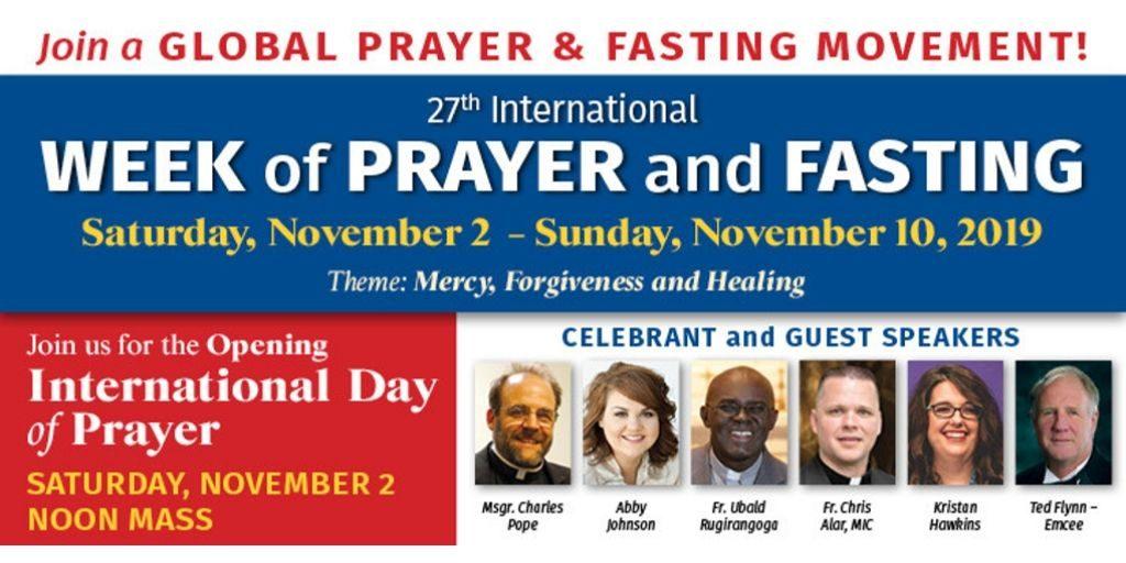 International Day of Prayer and Fasting