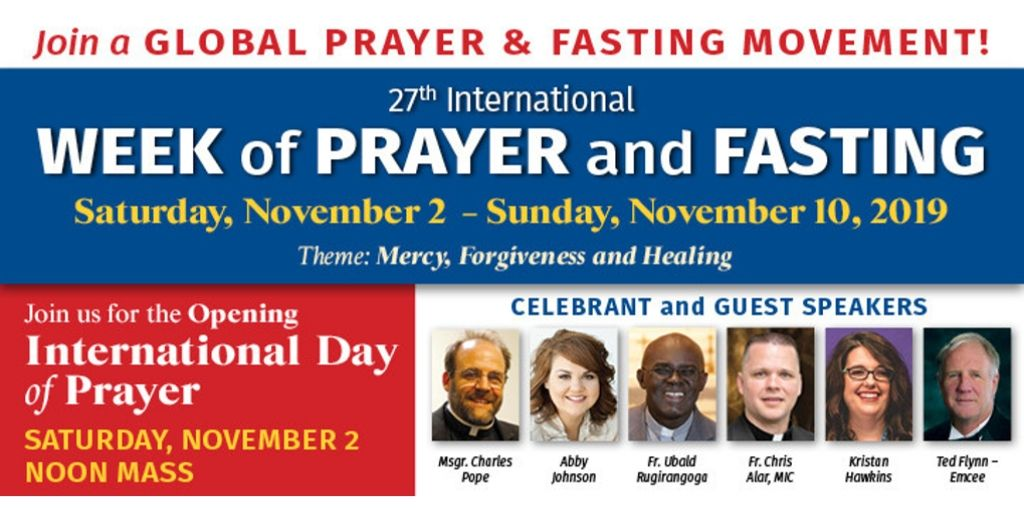 International Day of Prayer and Fasting
